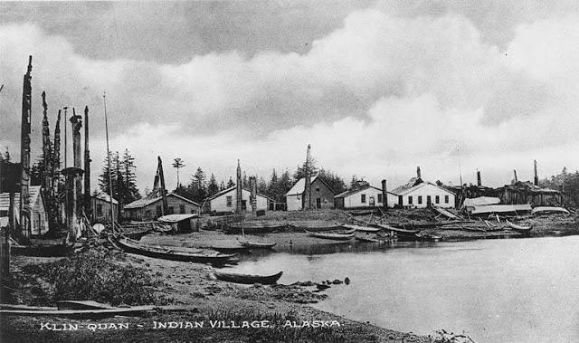010 haida village of klinkwan prince of wales island alaska ca 1897