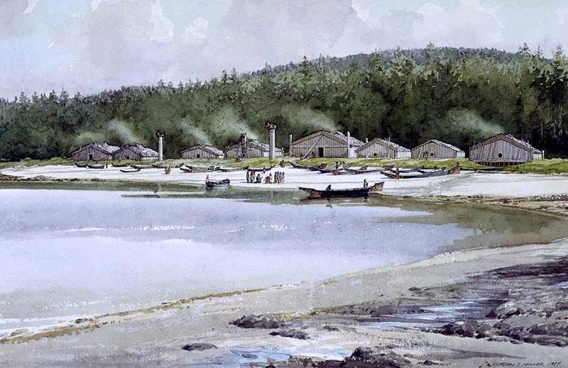 12 village de kiusta en 1799