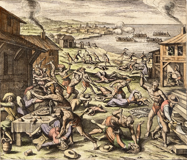 1622 massacre indien