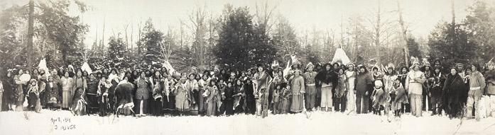 1914 panoramic view of iroquois