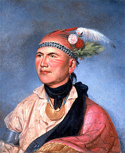 255px joseph brant by charles willson peale 1797