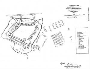 300px fort keogh plan 1878