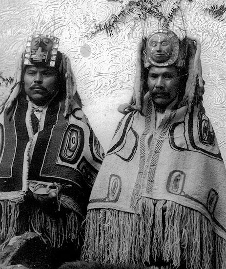 36 chefs appartenant au lignage du corbeau a skidegate dans les annees 1880