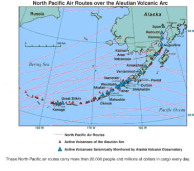 420px north pacific air routes iles aleoutiennes