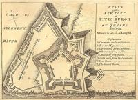 420px plan of fort pitt 1759