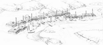58 plan du village de skungwai ninstintct
