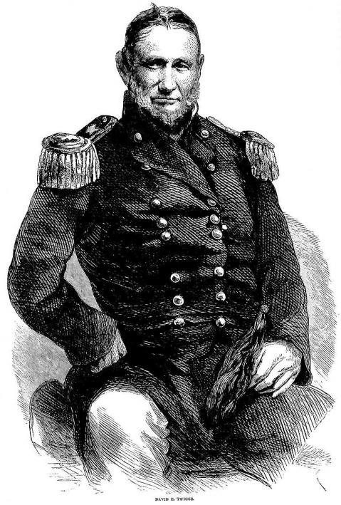 8 major general david e twiggs