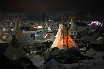971013 protests continue at standing rock sioux reservation over dakota pipeline access project