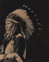 Afraid of eagle sioux