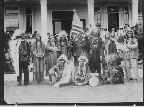 Algonquoin indian council 1926