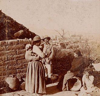 Archivo general de la nacion argentina 1890 aprox puna poblacion kolla colla