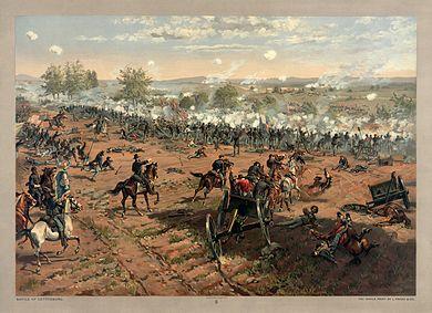 Bataille de gettysburg