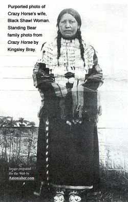 Black buffalo woman