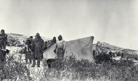 Campement inuit