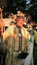 Chief robert pharaoh of the montaukett indian nation