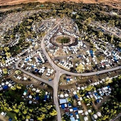 Crow fair air view 5
