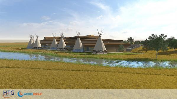 Cultural center rendering