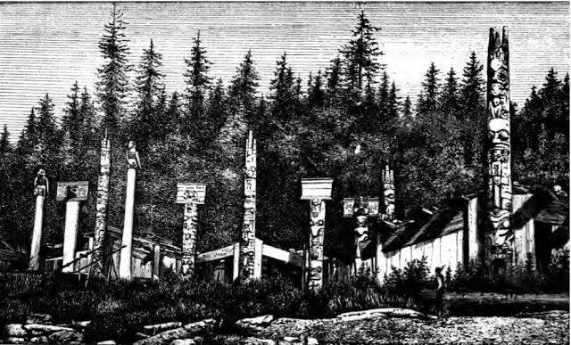 Cumshewa village