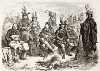 Delaware indiens lenapes inscrits dans larmee federale cwt4t5
