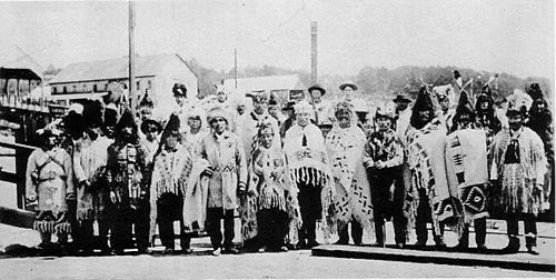 Delegation des squamish