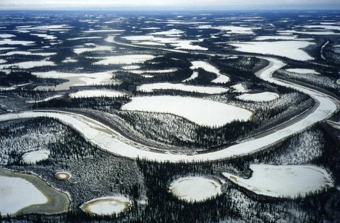 Delta mackenzie hiver