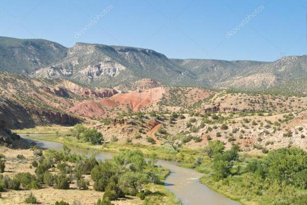 Depositphotos 7895247 stock photo rio chama river in desert