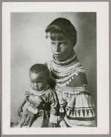 Femme et enfant du chef osceola mikasuki