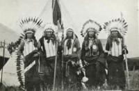Five chiefs du bois pa 1908