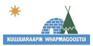 Flag of the village nordique de kuujjuaraapik et village cri de whapmagoostui