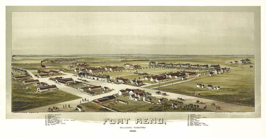 Fort reno oklahoma 1891