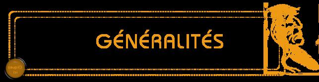 Generalites 3