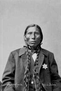 George sword oglala 1875