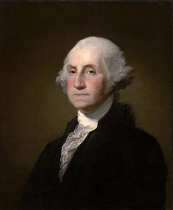 Gilbert stuart williamstown portrait of george washington 2