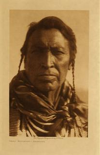 Hairy moccasins crow scout 1908