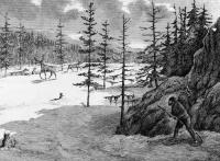 Hunting caribou 31