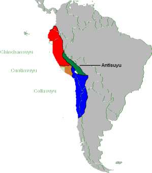 Inca empire south america