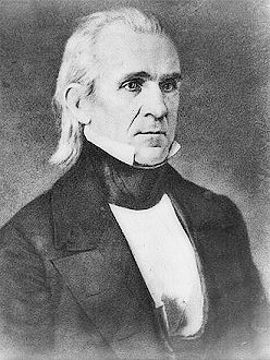James knox polk 1795 1849