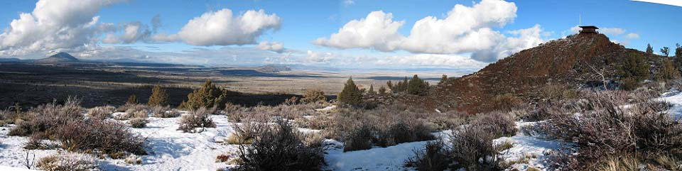 Lava beds panorama