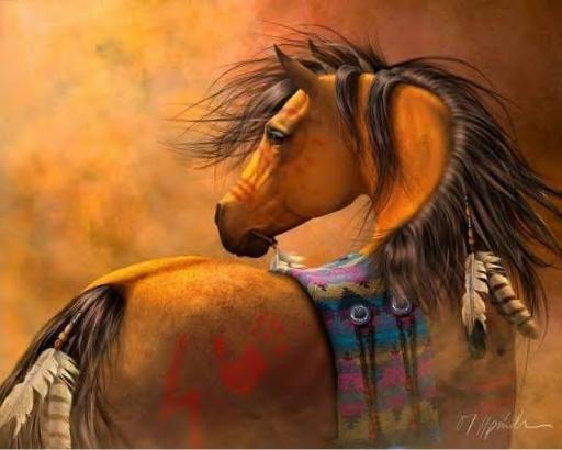 Le cheval 1648610 l