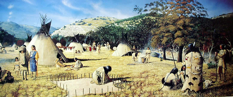Lipan apache camp