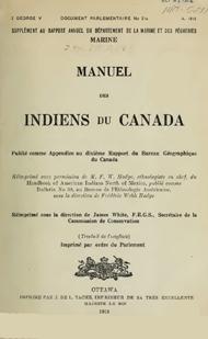 Manuel indiens canada