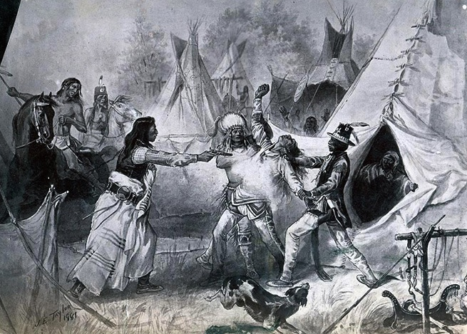 Murder of chief big mouth 1869