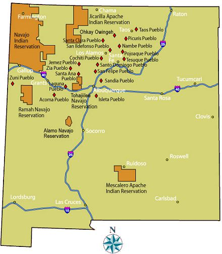 New mexico tribes