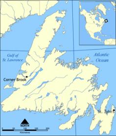 Newfoundland map