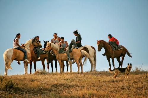 Oglala sioux riders 615