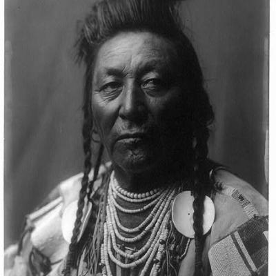 Plenty coups edward curtis portrait c1908