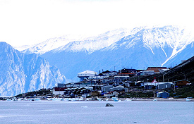 Pond inlet view