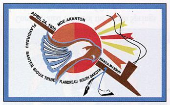 Reserve de flandreau drapeau