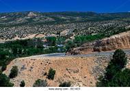 Road roadway town of cordova cordova rio arriba county new mexico be14e5