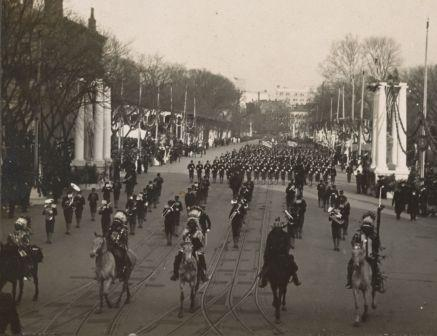 Roosevelt inauguration parade